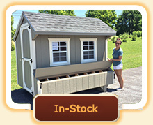 Ready to Ship - In-Stock Chicken Coops - Pre-Built