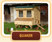 Quaker Style Chicken Coops