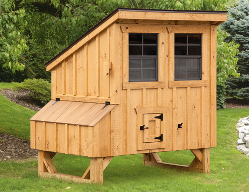 Lean To Style 4x4 Chicken Coops In Lancaster Pa Chicken