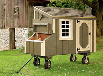 PORTABLE CHICKEN COOPS