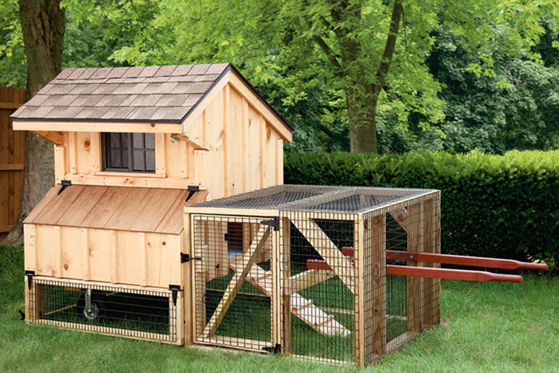how to build a portable chicken coop