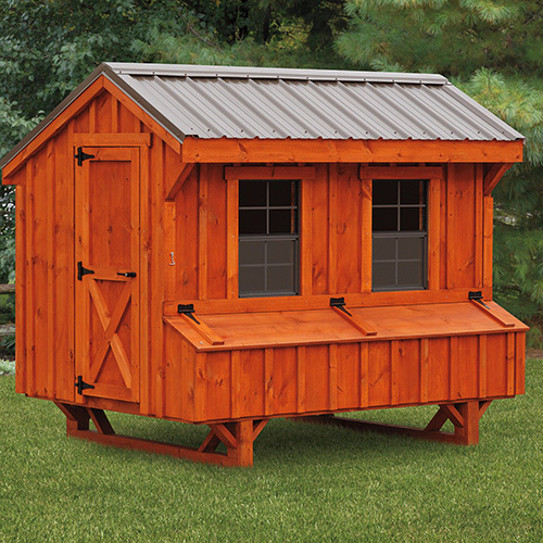 Quaker Style 5x8 Chicken Coops In Lancaster Pa Chicken