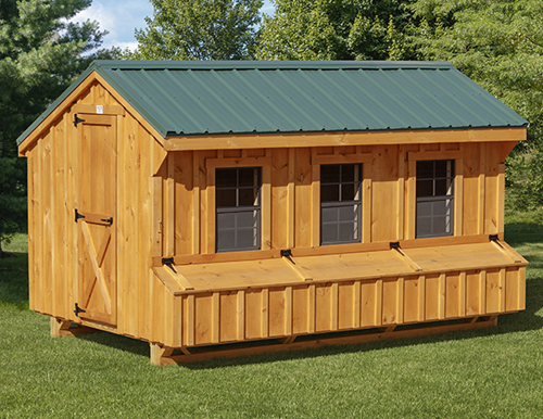 Quaker Style 7x12 Chicken Coops In Lancaster Pa Chicken