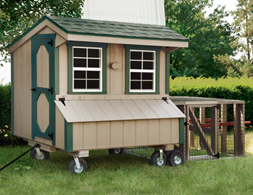quaker tractor style 4x6 chicken coops in maryland pa