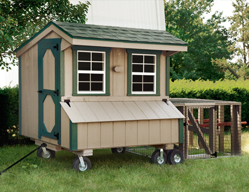 Hen Houses On Wheels From Amish Is Lancaster Pa