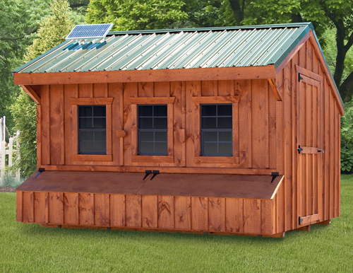 Amish Chicken Pens : Quaker style chicken coops in lancaster pa