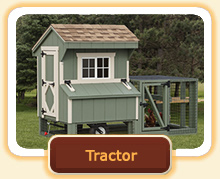Tractor run and coop chicken coops - portable chicken coops with wheels