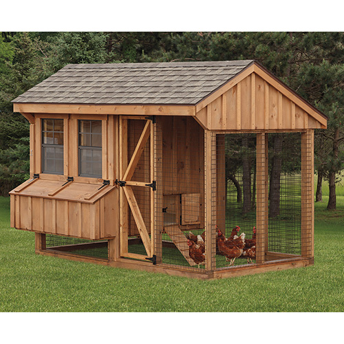 Combinations run and CHICKEN COOPS for 10 chickens, 11 chickens, 12 chickens, or 13 chickens
