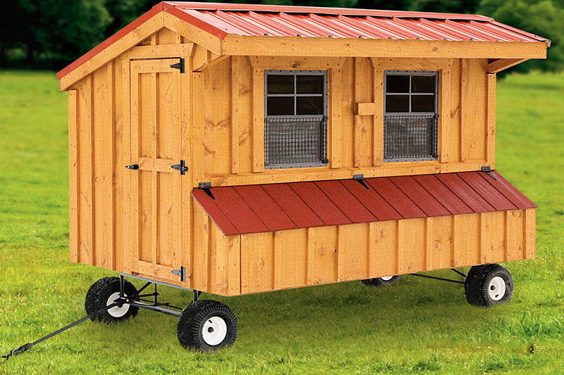 Portable Chicken Coops | Chicken Coops in Lancaster PA