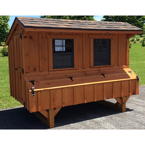 Quaker Style 4x8 Chicken Coops In Lancaster Pa Chicken